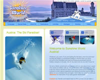 launch Sunshine World Austria website