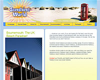 launch Sunshine World Bournemouth website