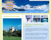 launch Sunshine World Slovakia website