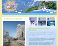 launch Sunshine World Slovenia website