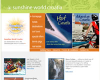 launch Sunshine World Croatia website
