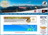 launch Sunshine World Poland website