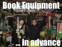 Submit your Rental Equipment Request here ... so we have have everything arranged for you in advance!
