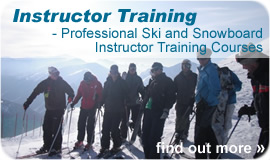 Ski Instructor Training and Snowboard Instructor Training