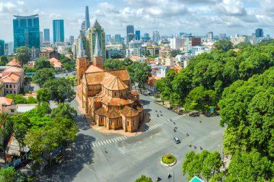 Ho Chi Minh City sunny day