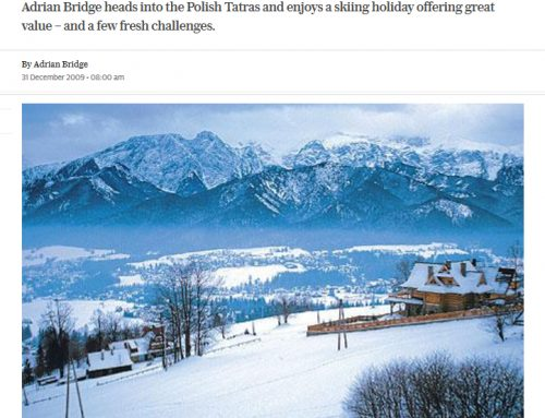 Zakopane, Poland: skiing with divine guidance